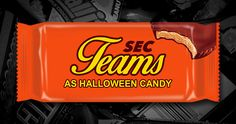 What SEC teams would be if they were Halloween candy