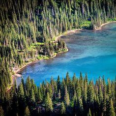 Blue Glacial Lakes :: #LuckyWeLiveMontana