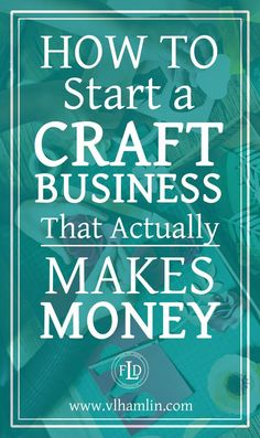 Ever wondered how to start a craft business? This post is for you – it's packed full of tips and tricks to help you start a craft business today! Do you love to make crafts? Etsy Business, Craft Business, Home Based Business, Business Tips, Online Business, Business Opportunities, Business Meme, Business Planning, Business Notes