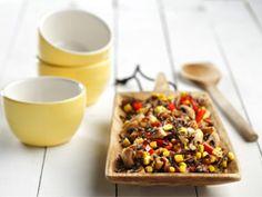 Autumn's Wild Rice-Mushrooms Pilaf-Style recipe by Price Chopper Vegetarian Main Course, Vegan Main Dishes, Mushroom Rice, Mushroom And Onions, Vegetarian Recipes, Healthy Recipes, Healthy Food, Canadian Food, Wild Rice