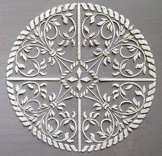 Soulevé de plâtre médaillon Astana Stencil, pochoir Craft, pochoir mural, pochoir meubles, Peinture pochoir
