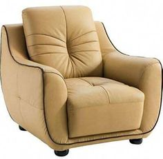 If you are looking for a hgh quality living room set. then choose the 2088 set. This living room chair features tufted detailing. light brown top grain leather and eco-leather upholstery on back. Leather Sofa Set, Leather Club Chairs, Leather Furniture, Leather Recliner, Antique Furniture, Living Room Sets, Living Room Chairs, Modern Sofa, Modern Chairs