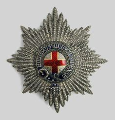 Star of the Order of the Garter belonged to Emperor Nicholas I of Russia.