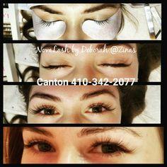 #Novalash #lashextensions #beauty #Canton #Baltimore House Of Lashes, Lash Extensions, Alcohol, Beauty, False Eyelashes, Rubbing Alcohol, Beauty Illustration, Liquor