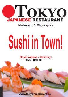 Tokyo Japanese Restaurant in Cluj-Napoca www.tokyorestaurant.ro #Sushi.
