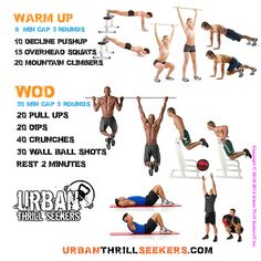 Workout of the day 10 decline Pushup, 15 overhead squats, 20  mountain climbers, 20 Pull-ups, 20 Dips, 40 crunches, 30 wall ball shots, #declinePushup #overheadsquats #mountainclimbers #Pullups #Dips #crunches #wallballshots
