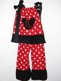 custom girls disney pillowcase outfit.