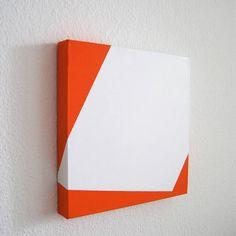 Gemälde auf Leinwand Acrylic on canvas Unikat geometrisch