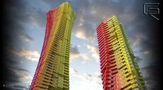 CRG proyecta un rascacielos de containers para Bombay,© EAFIE