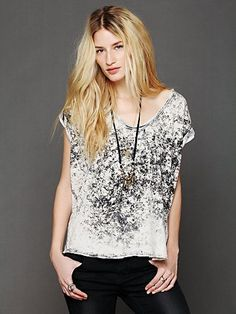 We The Free Madness Wash Tee. http://www.freepeople.com/whats-new/we-the-free-madness-wash-tee/