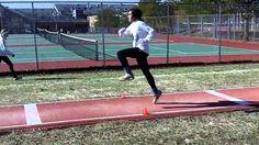 short run drills Triple Jump, Long Jump, Medicine Ball, Track And Field, Drills, Cross Country, Athlete, Coaching, Running
