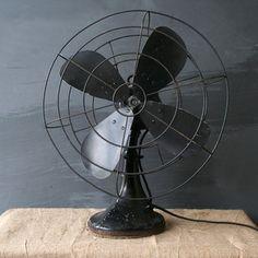 Black Industrial Fan, $74, now featured on Fab.