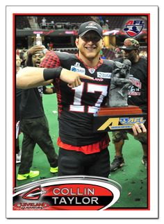 Cleveland Gladiators WR Collin Taylor