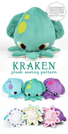 Wie man ein Kuscheltier macht - Projects to try - Plush Cute Crafts, Felt Crafts, Fabric Crafts, Sewing Toys, Sewing Crafts, Sewing Projects, Sewing Hacks, Sewing Tutorials, Sewing Patterns