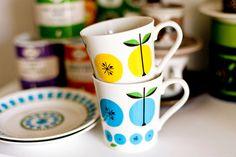 Lotta Kühlhorn Fruits Mug ( 2 color )