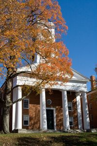 Johnson Chapel at Amherst College