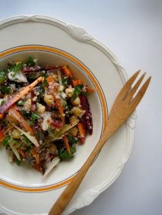 Confetti Quinoa Salad, LOOKS GREAT AND ADAPTS TO WHATEVER IS IN THE HOUSE AT THE TIME