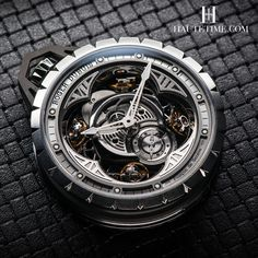 The Half A Million $, Pocket Roger Dubuis Excalibur Spider Pocket Watch Time Instrument.