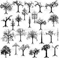 GraphicRiver Dead Trees 4267411