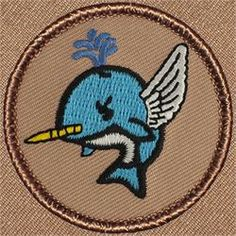 Flying Narwhal Patrol Patch (#776)