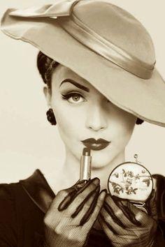 Cappello vintage elegante.