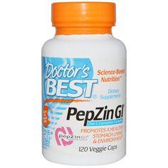 Doctor's Best, PepZin Gl, Zinc-L-Carnosine Complex, 120 Veggie Caps - iHerb.com