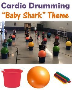 """Cardio Drumming Activity for Grades – """"Baby Shark"""" Theme Cardio Drumming is a popular PE activity for teachers – learn the """"Baby Shark"""" song for Grades Physical Education Activities, Elementary Physical Education, Pe Activities, Health And Physical Education, Educational Activities, Texas Education, Education Policy, Pe Games Elementary, Elementary Schools"""