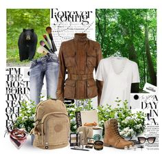 You have to be young enough to run...., created by marie-guzik-mcauley on Polyvore