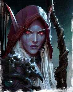 Sylvanas from World of Warcraft: Legion