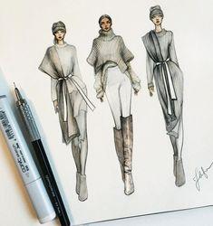 Dress Design Sketches, Fashion Design Sketchbook, Fashion Design Portfolio, Fashion Design Drawings, Fashion Figure Drawing, Fashion Drawing Dresses, Fashion Illustration Dresses, Fashion Illustrations, Fashion Illustration Tutorial