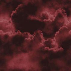 Burgundy clouds