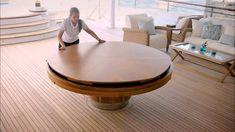 Isso sim é mesa! Mesa redonda que aumenta de tamanho!