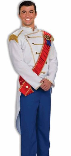 Prince Charming Deluxe Costume Adult Mens Disney Cinderella - Fast Ship - #FORUM #CompleteOutfit