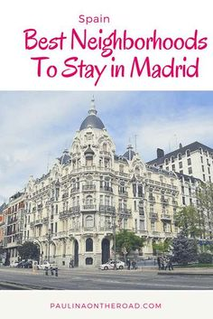 Are you wondering where to stay in Madrid? This guide to Madrid by a local takes you to the best hotels in Madrid. Best Hotels In Madrid, Visit Madrid, Madrid Travel, Spain And Portugal, Portugal Trip, Spain Travel, Croatia Travel, Hawaii Travel, Solo Travel