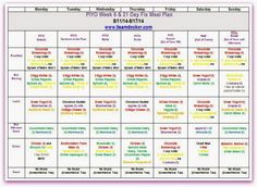 PiYO Week 6 with a 21 Day Fix Meal Plan!