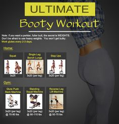 Great Glute Workout for a more perky butt #glutes #butt #workout