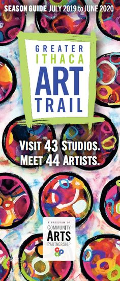 This is Ivy Stevens-Gupta's art on the cover of the brochure! Community Art, Ivy, Trail, Cover, Artist, Blanket, Amen, Artists, Hedera Helix