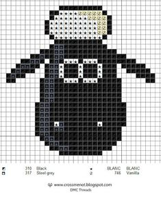 For the younger nerds, (and the young at heart), I have Shaun the sheep for geek-month. Sheep Cross Stitch, Cross Stitch Borders, Cross Stitching, Cross Stitch Embroidery, Cross Stitch Patterns, Knitting Graph Paper, Knitting Help, Knitting Charts, Knitting Patterns