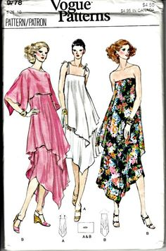 1979 American Hustle Tiered Dress and Cape by ShellMakeYouFlip