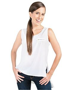 Guayabita Womens Paulina Blouse Medium White *** Details can be found by clicking on the image.