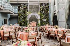 Peach Wedding Inspiration At Shade Hotel Manhattan Beach Photo John D