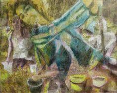 JOHANNA KALLiOiNEN  Charcoal and Acrylic