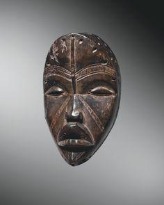 MASQUE DAN Paris New York, African Sculptures, Morris, Ivory Coast, Ivoire, African Art, Skull, Batman, America