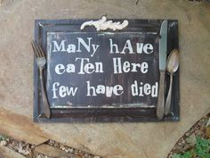 cute kitchen sign images - Google Search