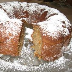 German Apple Cake I Allrecipes.com. Picture of one that I made. So good!