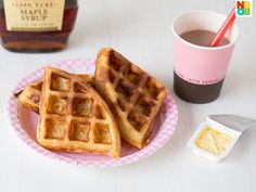 Easy Waffles Recipe using buttermilk
