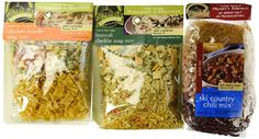 Frontier Soups 100% Natural Homemade In Minutes Gluten-Free Soup Mix 3 Flavor Variety Bundle: (1) Michigan Ski Country Chili Mix, (1) Virginia Blue Ridge Cheddar Broccoli Soup Mix, and (1) Connecticut Cottage Chicken Noodle Soup Mix, 4.5-15 Oz. Ea. * Want to know more, click on the image.