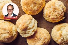 I Tried Alton Brown's Southern Biscuit Recipe | Kitchn Southern Cooking Recipes, Cooking Recipes For Dinner, No Cook Meals, Alton Brown Biscuits, Best Biscuit Recipe, My Favorite Food, Favorite Recipes, Southern Biscuits, Yeast Free Breads