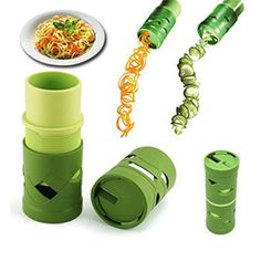 Magic Veggie Twister for Fruits & Veggies Gadgets And Gizmos, Cool Gadgets, Kitchen Hacks, Kitchen Gadgets, Kitchen Stuff, Things To Buy, Things I Want, Digital Pressure Cooker, Eat To Live