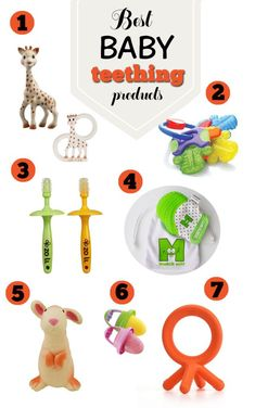 Best Baby Teething Products http://mammahealth.blogspot.com/2018/01/teething-and-your-baby-symptoms-and.html